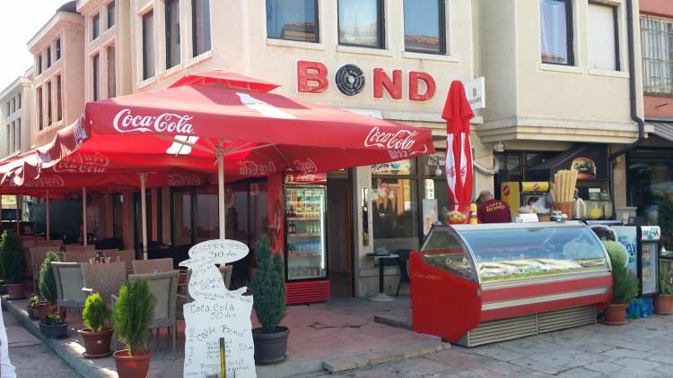 Caffe Bond Üsküp'te gerçekten gidilesi bir yer