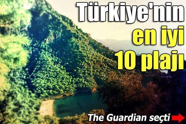 İşte sizler için Türkiye'nin en güzel plajları